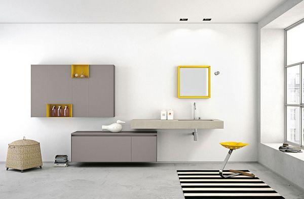 Muebles De Baño Estilo Minimalista:moderne set classique
