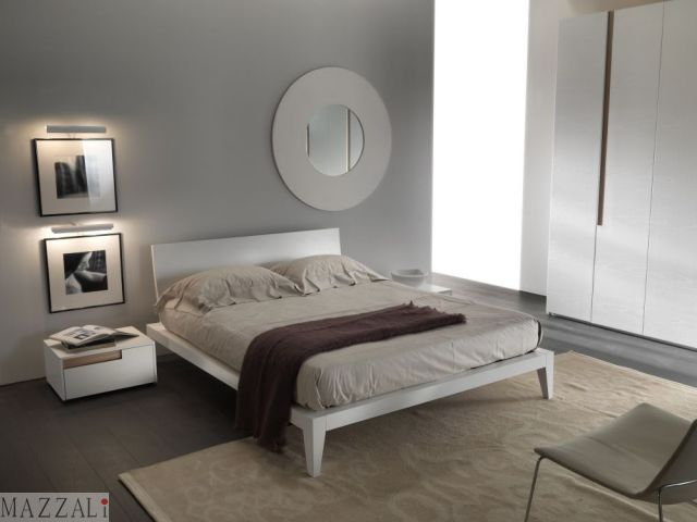 Camera Da Letto Mobili Bianchi Pareti : Di chio arredamenti cuisines moderne set classique zone